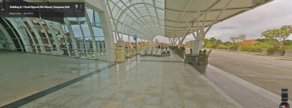 Bali airport departure terminal