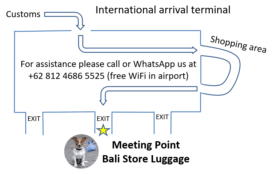 bali airport meeting point